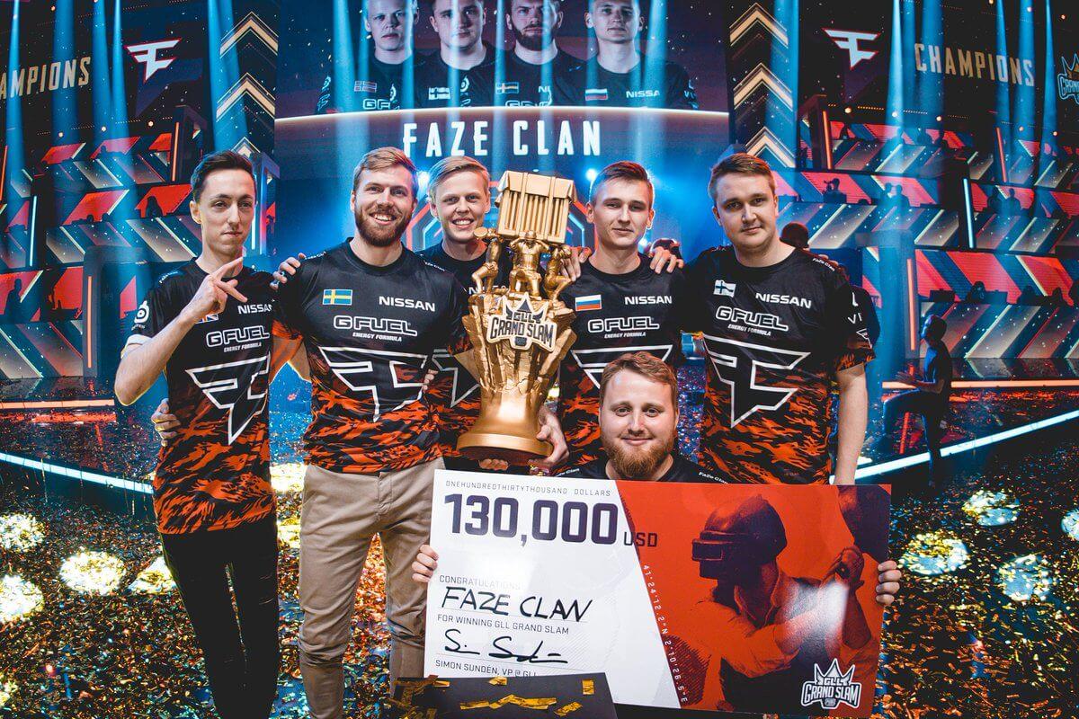 FaZe Clan выиграли GLL Grand Slam по PUBG