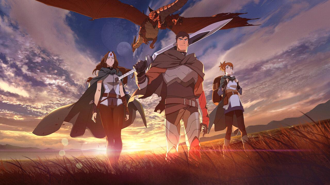 Рецензия на аниме-сериал «DOTA: кровь дракона» на Netflix